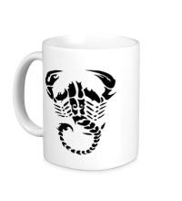 Керамическая кружка Скорпион