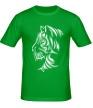 Мужская футболка «Тату тигр» - Фото 1