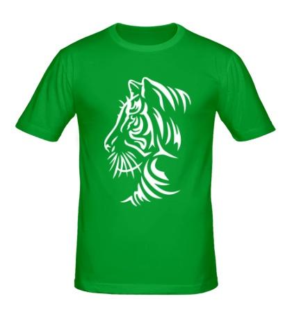 Мужская футболка Тату тигр