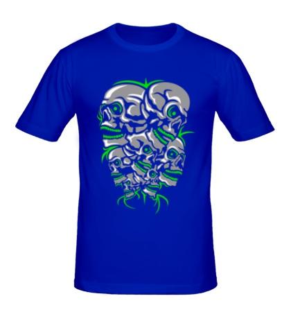 Мужская футболка Гора черепов