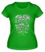 Женская футболка «Гора черепов» - Фото 1