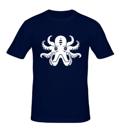 Мужская футболка Осьминог