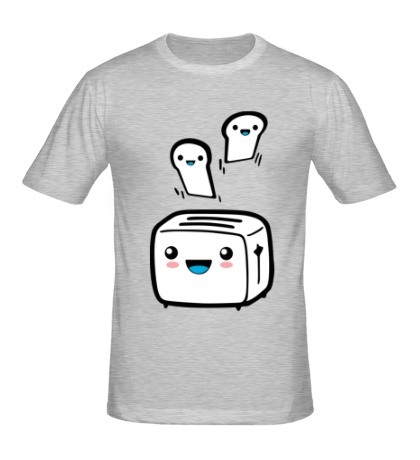 Мужская футболка «Веселый тостер»