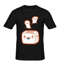 Мужская футболка Веселый тостер