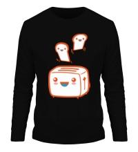 Мужской лонгслив Веселый тостер