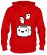 Толстовка с капюшоном «Веселый тостер» - Фото 1