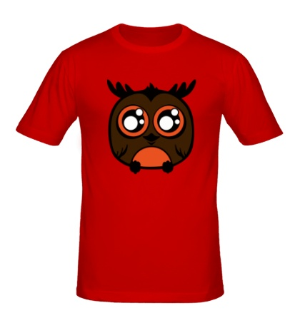 Мужская футболка Совенок