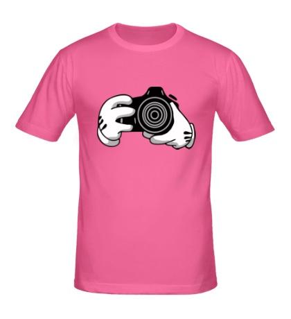 Мужская футболка Фотограф