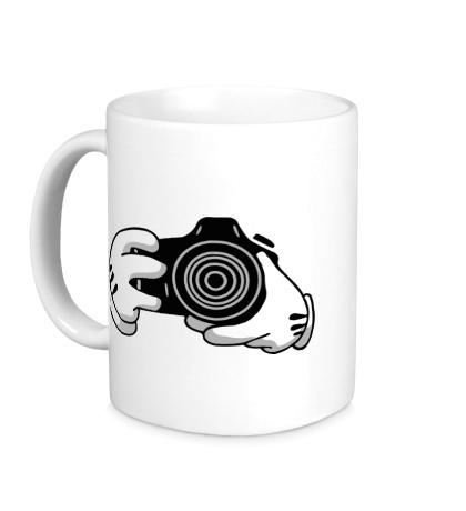 Керамическая кружка Фотограф