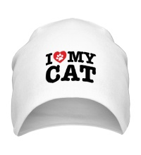 Шапка I love my Cat