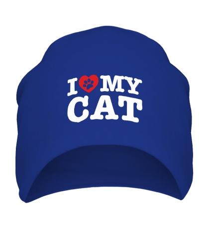 Шапка I love my Cat