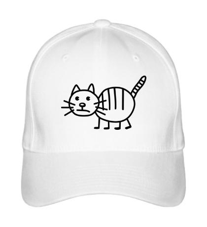 Бейсболка Рисунок кота