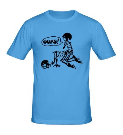 Мужская футболка Парочка Скелетов