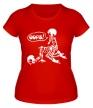 Женская футболка «Парочка Скелетов» - Фото 1
