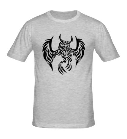 Мужская футболка Огненная сова