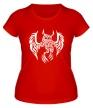 Женская футболка «Огненная сова» - Фото 1