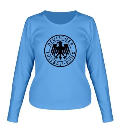 Женский лонгслив «Deutscher Fussball-Bund»