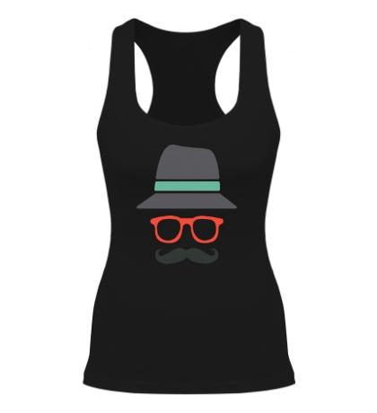 Женская борцовка Хипстер в шляпе
