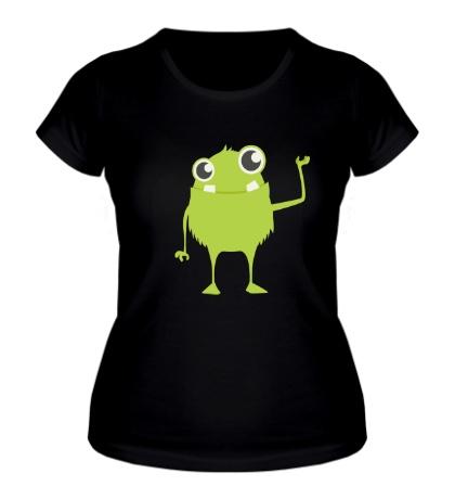 Женская футболка Маленький инопланетянин
