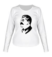 Женский лонгслив Иосиф Сталин