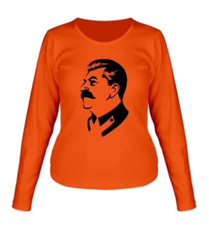 Женский лонгслив «Иосиф Сталин»