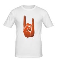 Мужская футболка Рок коза