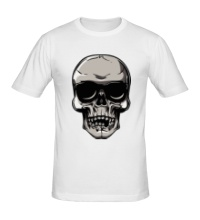 Мужская футболка Череп рокера