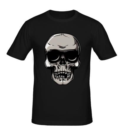 Мужская футболка «Череп рокера»