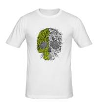 Мужская футболка Абстрактный череп