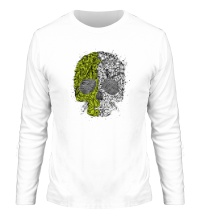 Мужской лонгслив Абстрактный череп