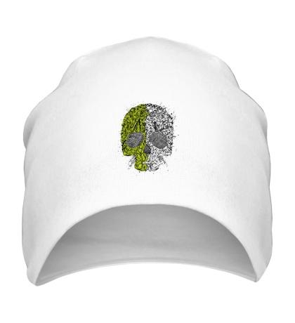 Шапка Абстрактный череп