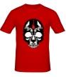 Мужская футболка «Череп металиста» - Фото 1