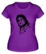 Женская футболка «Легендарный Майкл Джексон» - Фото 1