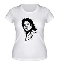 Женская футболка Легендарный Майкл Джексон