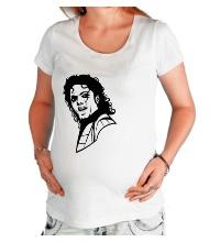 Футболка для беременной Легендарный Майкл Джексон
