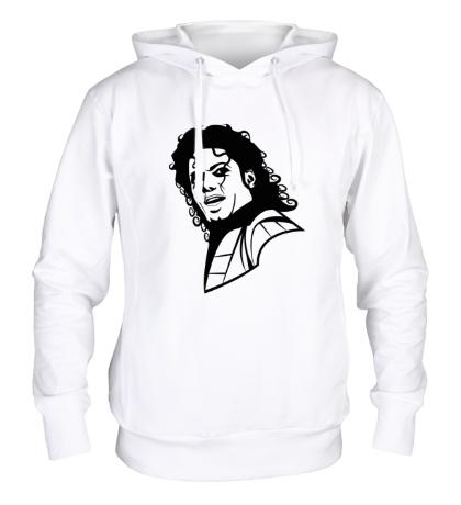 Толстовка с капюшоном Легендарный Майкл Джексон