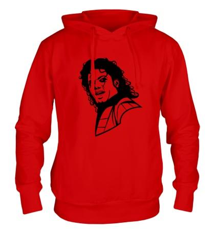 Толстовка с капюшоном «Легендарный Майкл Джексон»