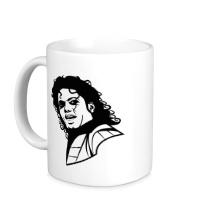 Керамическая кружка Легендарный Майкл Джексон