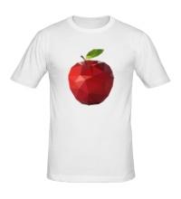 Мужская футболка Абстрактное яблоко