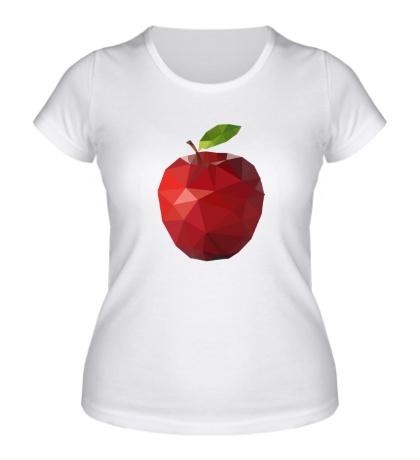 Женская футболка Абстрактное яблоко