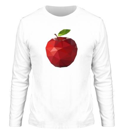 Мужской лонгслив «Абстрактное яблоко»