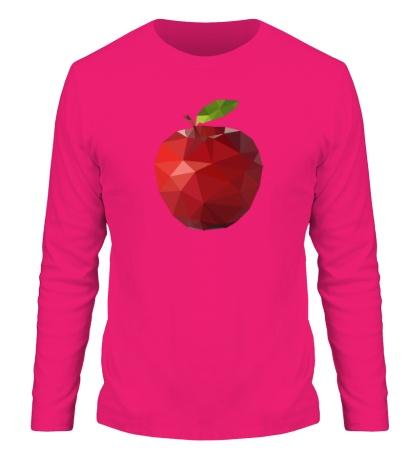Мужской лонгслив Абстрактное яблоко