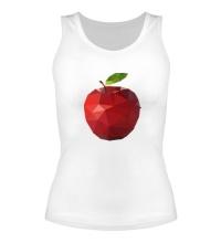 Женская майка Абстрактное яблоко