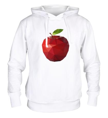 Толстовка с капюшоном Абстрактное яблоко