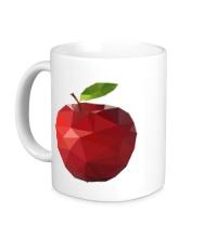 Керамическая кружка Абстрактное яблоко