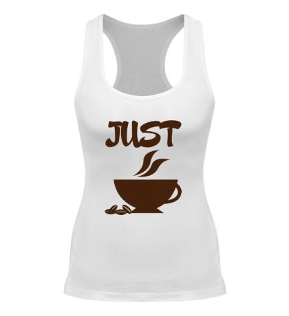 Женская борцовка «Хочу кофе»