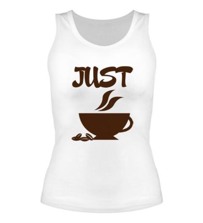 Женская майка Хочу кофе