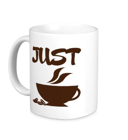 Керамическая кружка «Хочу кофе»
