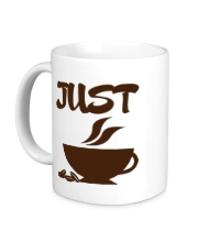 Керамическая кружка Хочу кофе