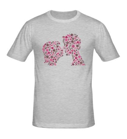 Мужская футболка «Love»